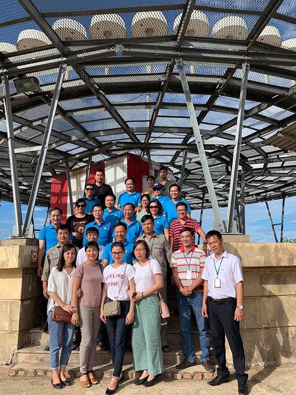 Chủ tịch CĐTCT thăm đài Vor Đồng Hới 11-8-2019