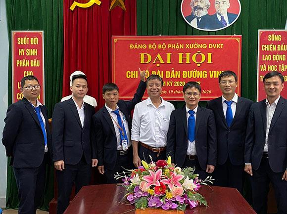 DH chi bo Dai Vinh